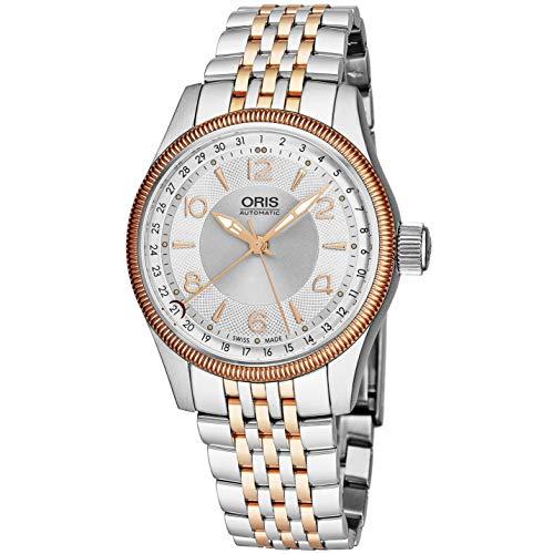 Oris Men's Pointer 40mm Steel Case Automatic Analog Watch 00 754 7679 4331-MB