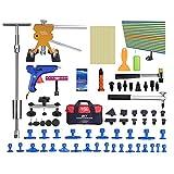 LXDTOOL PDR Auto Dent Puller Kit, Dent Puller Paintless Reparatur Entfernung Werkzeuge Dent Puller Set Car Body Dent Handwerkzeug Tasche