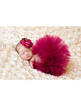 TININNA Estilo Lindo de Foto Suave Infantil Niñas Bebés Trajes Apoyo de la Fotografía Costume Outfits, Falda y...