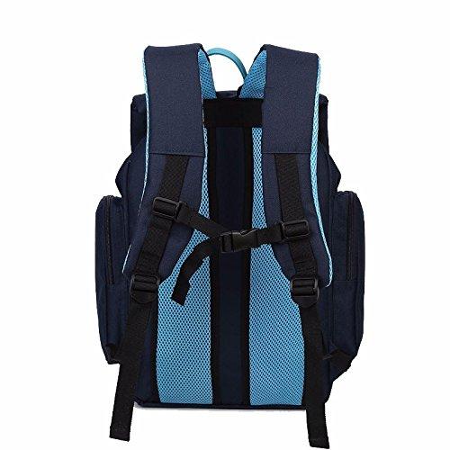 der junior high school schoolbag, freizeit und rucksack, campus - tasche,des königsblau