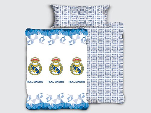 Tejidos Reina Juego Sábanas Emblema Real Madrid Cama