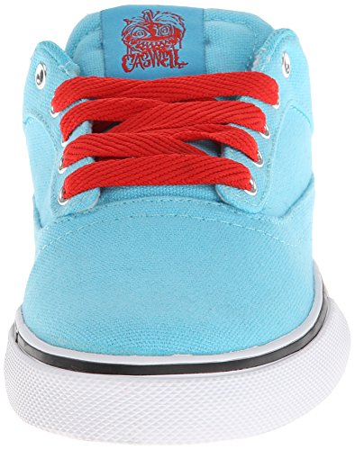 Osiris Caswell vlc mixte adulte, cuir, sneaker skate multicouleur - Blue/red/white