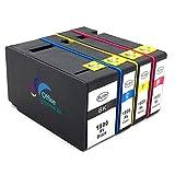 4x TintenPatronen kompatibel zu Canon PGI1500XL BK C M Y für Canon Maxify MB 2050 MB 2350 MB2150 MB2750 MB2755 MB2155