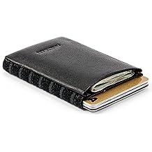 Kleiner Geldbeutel Herren, Mini Börse mit Kreditkartenetui, Mini-Portemonnaie, kleine Geldbörse, Mini-Brieftasche