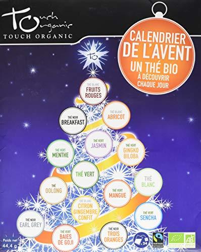 Touch Organic Calendario adviento - Tés ecológicos