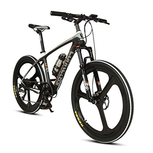 Extrbici VTT à Assistance électrique Vélo de Montagne en Fibre de Carbone 250W 36V très Léger de 18kg Fourche à...