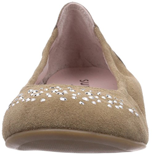 Superfit CLAIRE 400197, Mädchen Geschlossene Ballerinas Beige (PEBBLE 23)