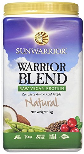 Sunwarrior Warrior Blend natural, 1er Pack (1 x 1 kg) (Vanille Egg Protein)