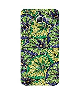 Purple And Green Auntum Samsung Galaxy E5 Case