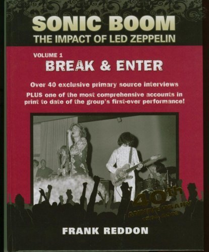 Sonic Boom : The Impact of Led Zeppelin [Hardcover] by