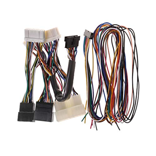 Jenor ECU Umrüstung Jumper Harness OBD0 auf OBD1 für Honda Civic 88-91 Acura Integra - Y Kabel Honda Harness