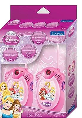 Lexibook - TW06DP - Talkie-walkie Disney Princess