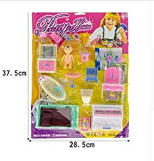 Doll Pretty House Baby Play Set (Multi Colour) Toys & Games