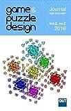 Game & Puzzle Design, vol. 2, no. 2, 2016 (B&W)