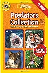 National Geographic Readers: Predators Collection: Readers That Grow With You by National Geographic (2013-08-06)