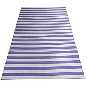 indien napperon décoration polypropylène abstraite étage de couture tapis de plage violet mat tapis faits à la main en plastique décorative lavable tapis intérieure