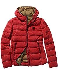 low priced dae86 b4e78 Piumini Donna BlauerAbbigliamento Amazon Piumini Donna ...