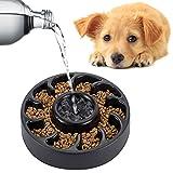 moonlux Näpfe für Hunde, Reisenäpfe Hundenapf Katzennapf Anti-schling NAPF, Slow Dog Feeding Bowl Näpfe für Katzen(Food Grade PP Material)