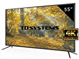 TD Systems K55DLM8U - 55' UHD 4K (Resolución Ultra HD 4K, 3X HDMI, VGA, USB Reproductor y Grabador, TV Led TDT HD DVB-T2)