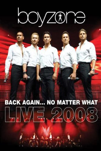 Boyzone - Back Again (No Matter What): Live 2008 (2 DVDs; Deluxe Edition)