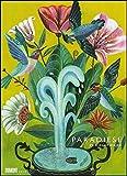 Olaf Hajek: Paradiese 2020 – DUMONT Kunst-Kalender – Poster-Format 49,5 x 68,5 cm