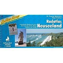 Neuseeland Radatlas: Traumhafte Radtouren durch das Land der Kiwis, Maori, Hobbits und Schafe. Ein original bikeline-Radtourenbuch