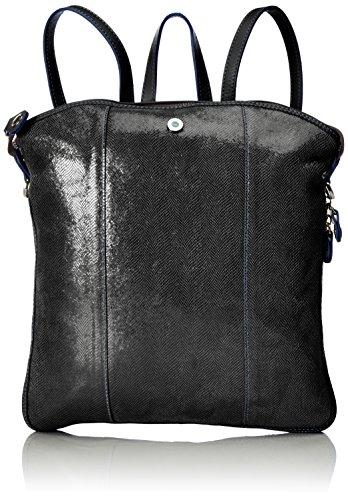 Gabs & Gabs Studio Luigia, Sac à main à bretelles pour port en sac à dos Schwarz (Nero)