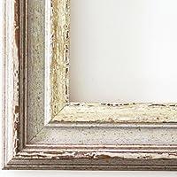 Bilderrahmen Trento Beige Silber 5,4 - Über 500 Varianten zur Auswahl - alle Größen - 60 x 90 cm - WRP - Antik, Barock