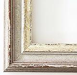 Online Galerie Bingold Bilderrahmen Trento Beige Silber 5,4 - Über 500 Varianten zur Auswahl - Alle Größen - 10 x 50 cm - LR - Antik, Barock
