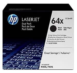 HP 64X Toners Noir Authentiques Grande Capacité (CC364XD)