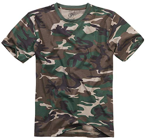Brandit T-Shirt, Woodland 5XL