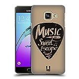 Head Case Designs Plektrum Kraft Der Musik Ruckseite Hülle für Samsung Galaxy A3 (2016)