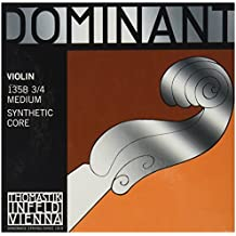 Dominant Strings 135B34 - Juego de cuerdas para violín, 3/4