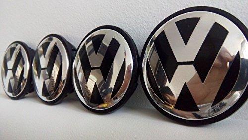 lot-de-4-volkswagen-noir-golf-passat-cc-eos-centre-de-roue-en-alliage-hub-bouchons-face-65-mm