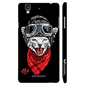 Micromax Yureka Catapilot designer mobile hard shell case by Enthopia