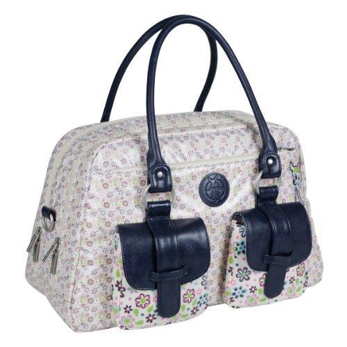 Preisvergleich Produktbild Lssig Changing Bag Vintage Metro Bag Daisy Flower by Lssig