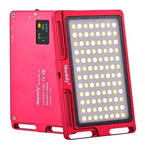 Daqin Net Red Anchor Video Fill Licht for Kamera, Handy (Color : Black) (Fill-licht-reflektor)