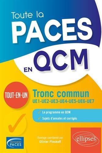 Toute la PACES en QCM - L'intégrale