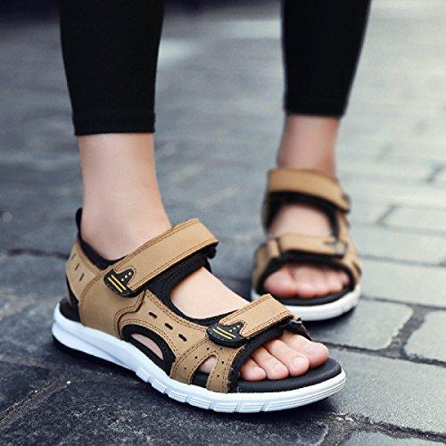 Paare Sandalen Herren Sandalen Frauenschuh Outdoor-Watschuhe Brown