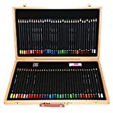 Derwent Academy Color Pencil Wooden Box (Pack of 72)