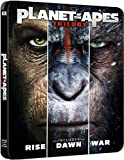 The Planet Of The Apes Steelbook Trilogy Uk Exclusive Limited Edition BlurayRegion Free Available now !!