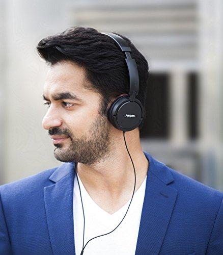 Philips SHL5000/00 On Ear Headphone with Deep Bass (Black) Image 6