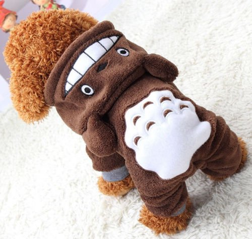 Vestito invernale Hoody Pet costume cappottino caldo