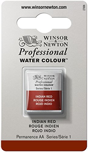 Winsor & Newton Professional Aquarellfarben Halber Napf Indischrot