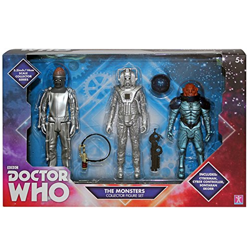 Doctor Who The Monsters Collector Figure Set