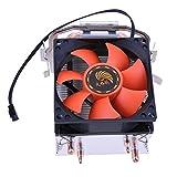 Unterbrechen CPU-Kühler doppelt Heatpipe Kühler für Intel LGA775/1155/1156AMD/AM2/AM2+
