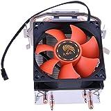 Amazingdeal365 Enfriador de CPU Radiador doble de Heatpipe para Intel LGA775 / 1155/1156 AMD / AM2 / AM2 + / AM3