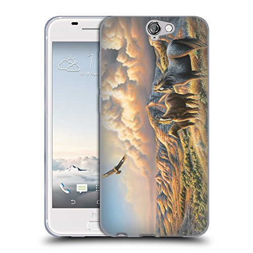 official-chuck-black-under-wild-skies-wildlife-and-animals-soft-gel-case-for-htc-one-a9