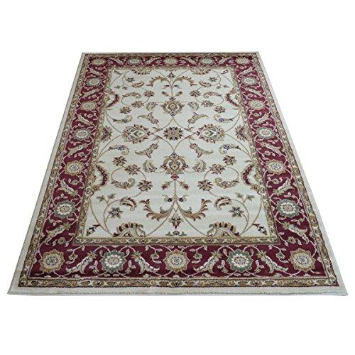 WEBTAPPETI Teppich Ziegler Position Orientalisches/Persisches Rot Beige cm. 160x 230oder 200x 300 cm. 160x230 3116-IVORY -