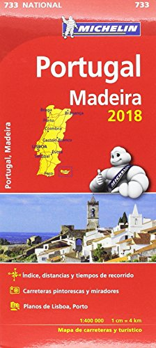 Mapa National Portugal (Colección Mapas National Michelin)